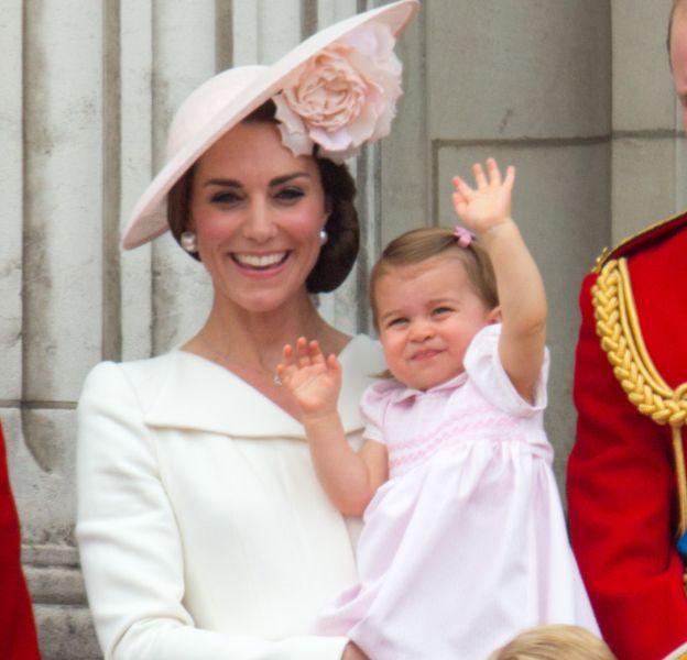 George et Charlotte accompagneront leurs parents au Canada.