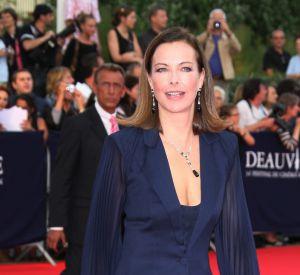 Carole Bouquet au festival du film américain de Deauville.