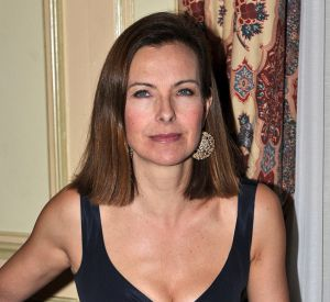 "Carole Bouquet au ""Bal de Paris""."