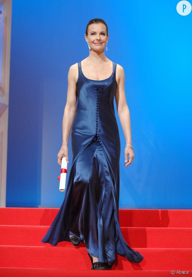 Carole Bouquet, lors de la 60e édition du Festival de Cannes.