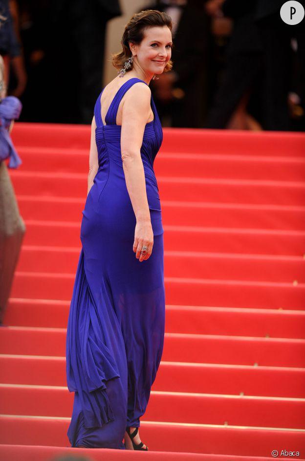 Carole Bouquet lors de la 64e édition du Festival de Cannes.
