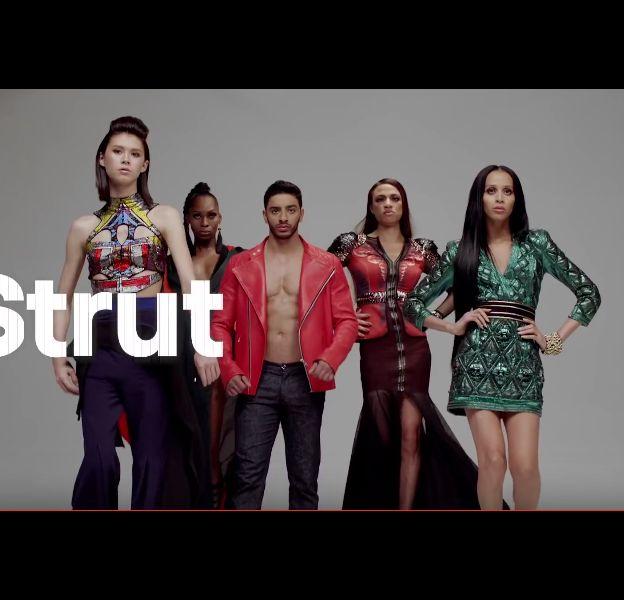 """Les protagonistes de """"Strut""""."""