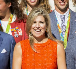Maxima des Pays Bas : une reine pétillante en robe orange