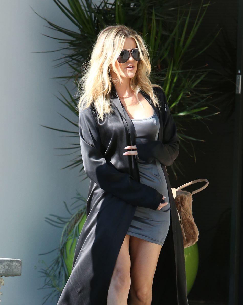 Khloe Kardashian n'est pas en reste.