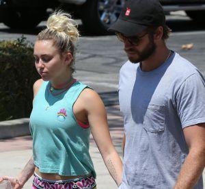 Miley Cyrus : sortie en public avec son chéri Liam Hemsworth à L.A