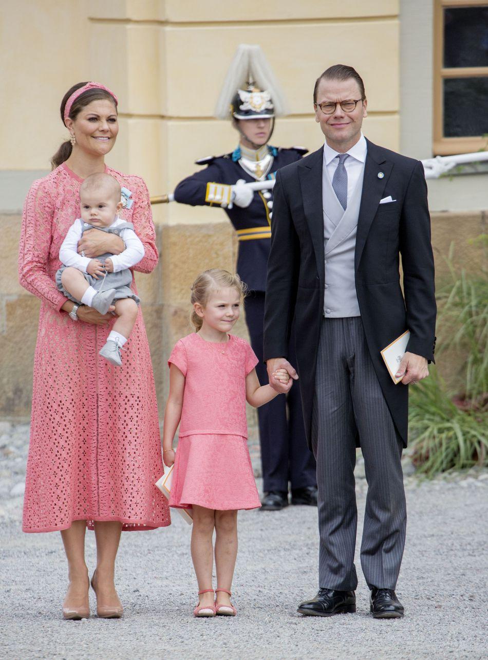 Tout comme leur fille aînée, la princesse Victoria et sa famille.