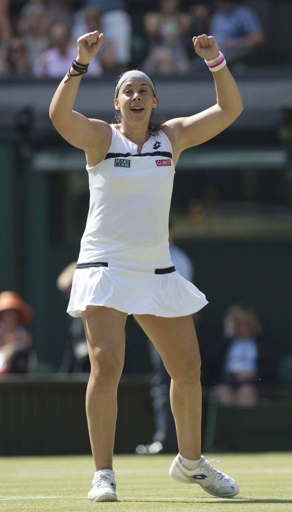 Il y a trois ans, Marion Bartoli remportait le tournoi de Wimbledon, avec plus d'une vingtaine de kilos en plus qu'aujourd'hui.