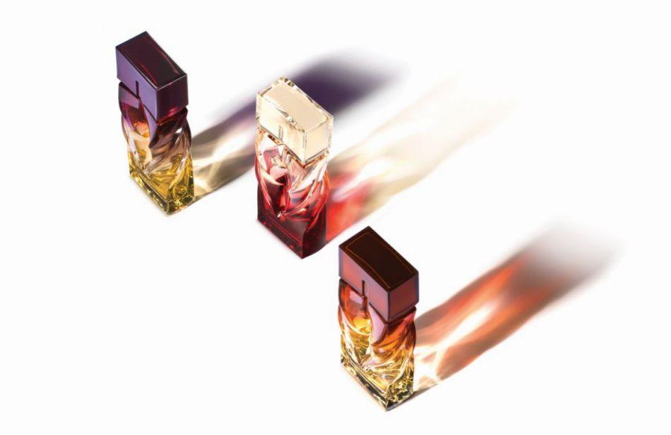 Les trois flacons Louboutin sont d'un design exceptionnel.