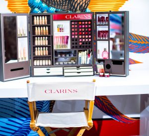 La formation make up de la Clarins Academie.