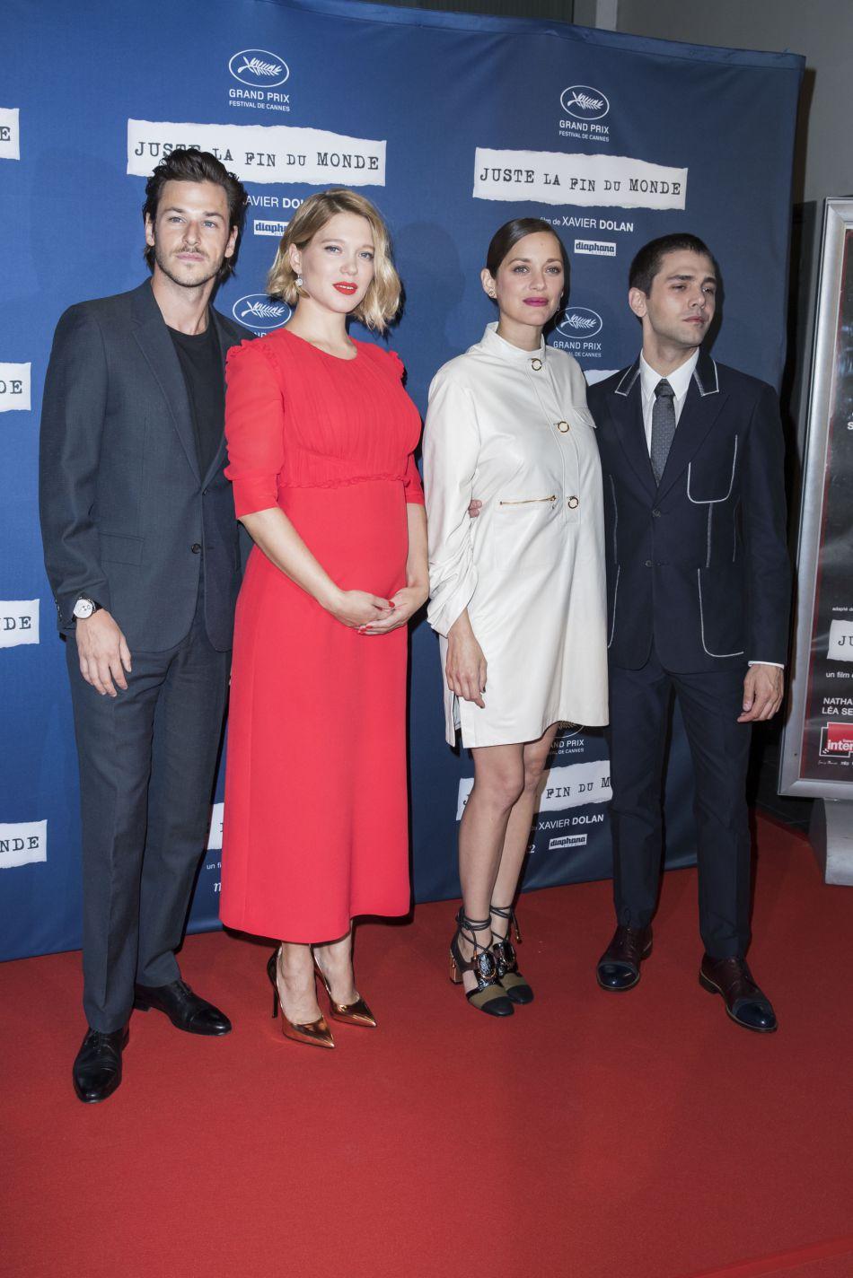 Le dernier film de Xavier Dolan, très attendu a eu droit à une présentation en grande pompe devant le public parisien.