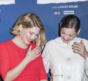 Léa Seydoux et Marion Cotillard : duo complice sur le tapis rouge
