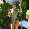 Kourtney Kardashian était resplendissante à Miami ce week-end.