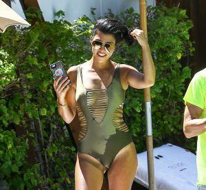 Kourtney Kardashian : ultra sexy en maillot échancré pour son séjour à Miami