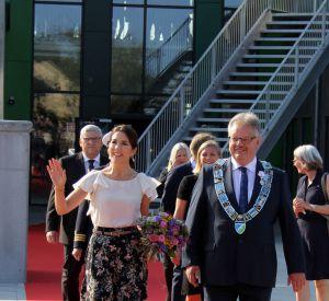 Mary du Danemark a fait son apparition sur le tapis rouge de l'évènement.
