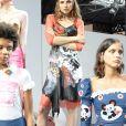 Fashion East  printemps-ete 2018 Lieu : london TOPSHOP SHOW SPACE Old Spitalfields Market Punchinello Gate E1 6AA