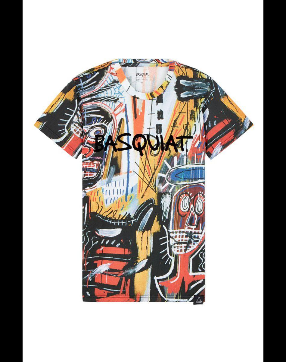 T-shirt Basquiat pour Eleven Paris.