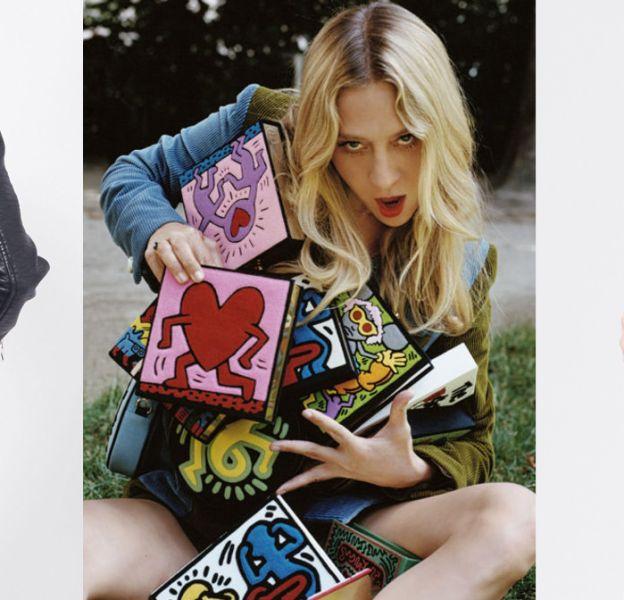 Keith Haring et Jean-Michel Basquiat sont de vraies sources d'inspiration pour la mode.