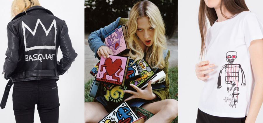 Keith Haring/Jean-Michel Basquiat : l'inaltérable source d'inspiration mode
