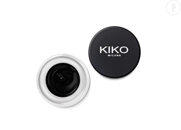 Eye-liner en gel de Kiko, 8,90€.