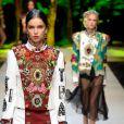 Dolce & Gabbana printemps-ete 2017 Lieu : milan Metropol v.le Piave 24