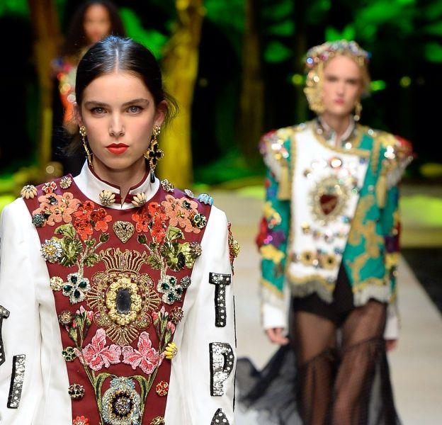 Dolce & Gabbana printemps-ete 2017Lieu : milanMetropol v.le Piave 24