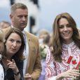 Kate Middleton, superbe dans une création Alexander McQueen.