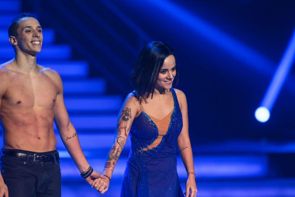 """Lors de """"DALS 5"""" ce serait une crise de jalousie d'Alizée qui aurait poussé Grégoire à quitter l'émission...une rumeur que le danseur dément encore."""