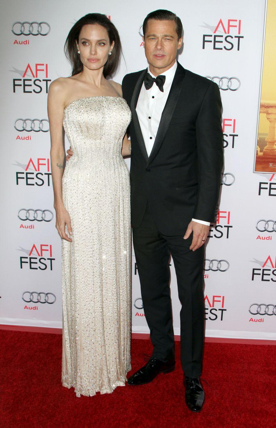 Depuis la demande de divorce d'Angelina Jolie, il n'a pas vu ses enfants.
