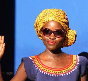 """En pleine promotion de son film """"Queen of Katwe"""", l'actrice a décidé de démontrer ses talents de rappeuse."""