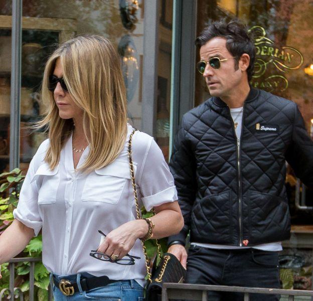 Jennifer Aniston et Justin Theroux se sont retrouvés à New-York après quelques semaines de séparation à cause de leurs agendas d'acteurs bien trop chargés.