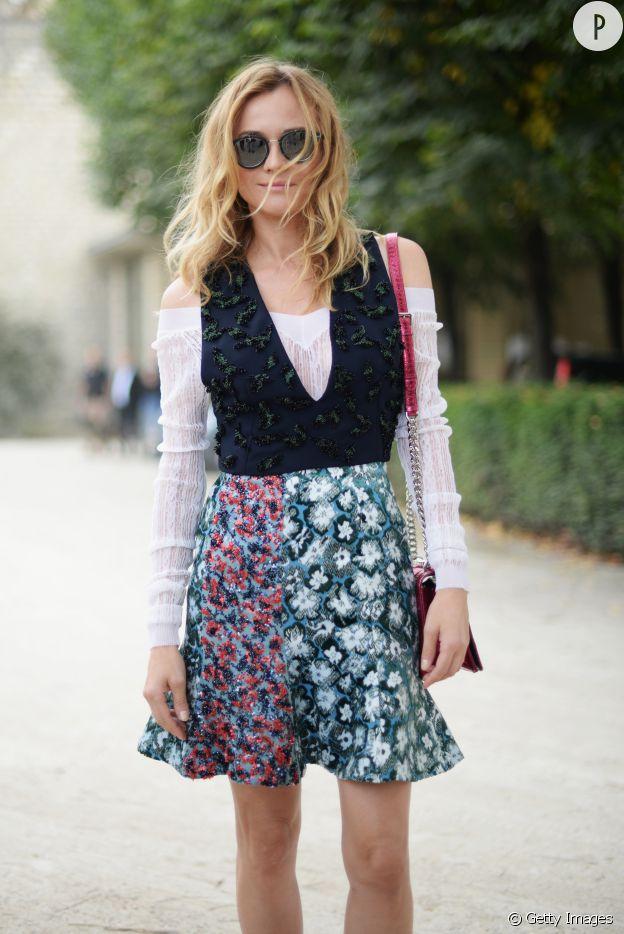 Diane Kruger en total look Dior.