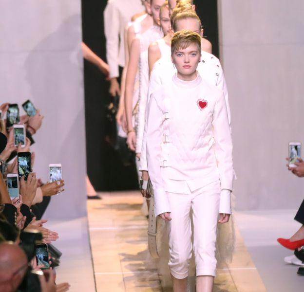 Le show Dior à Paris pour la collection Printemps-Eté 2017.