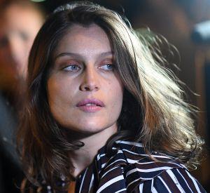 La sublime Laetitia Casta au défilé Nina Ricci, à Paris