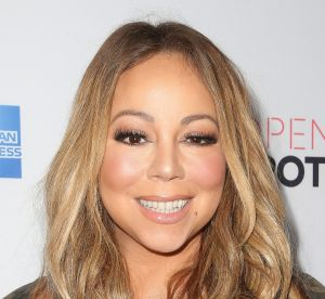 Mariah Carey : décolletée jusqu'au nombril, la diva a abusé de Photoshop !