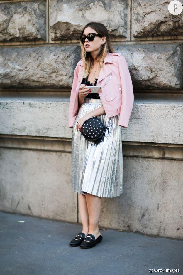 Comment adopter la tendance de la jupe plissée   - Puretrend f85e1d4b8434