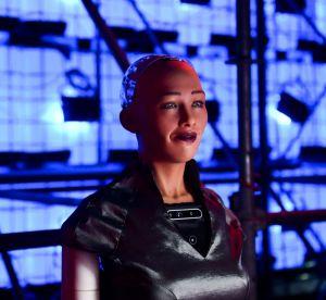 Sophia le robot, la rencontre du 3ème type au défilé Alexander Wang