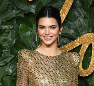 Kendall Jenner accro à la transparence : elle ne quitte plus sa naked dress