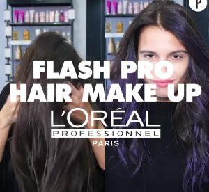 Rose, vert, bleu... L'Oréal Pro crée enfin une colo qui prend sur les brunes
