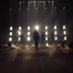 Set and Light scenography for Dior Homme's show - by Thierry Dreyfus - Production Eyesight - Paris - June 2003