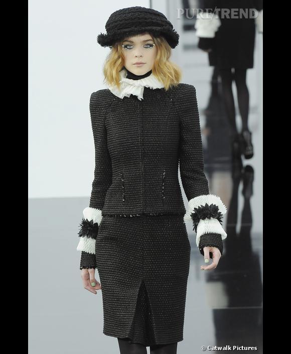 Veste tailleur femme style chanel