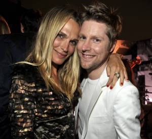 Molly Sims et Christopher Bailey