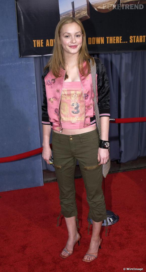 A 16 ans, Leighton Meester adoptait un look très sage loin du look grunge qu'arbore Taylor Momsen, âgée de 16 ans également.