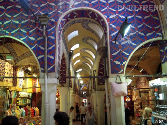 Intérieur du Grand Bazar d'Istanbul
