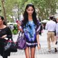 Chanel Iman à Bryant Park à New-York