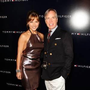 Elsa Pataky  et Tommy Hilfiger.