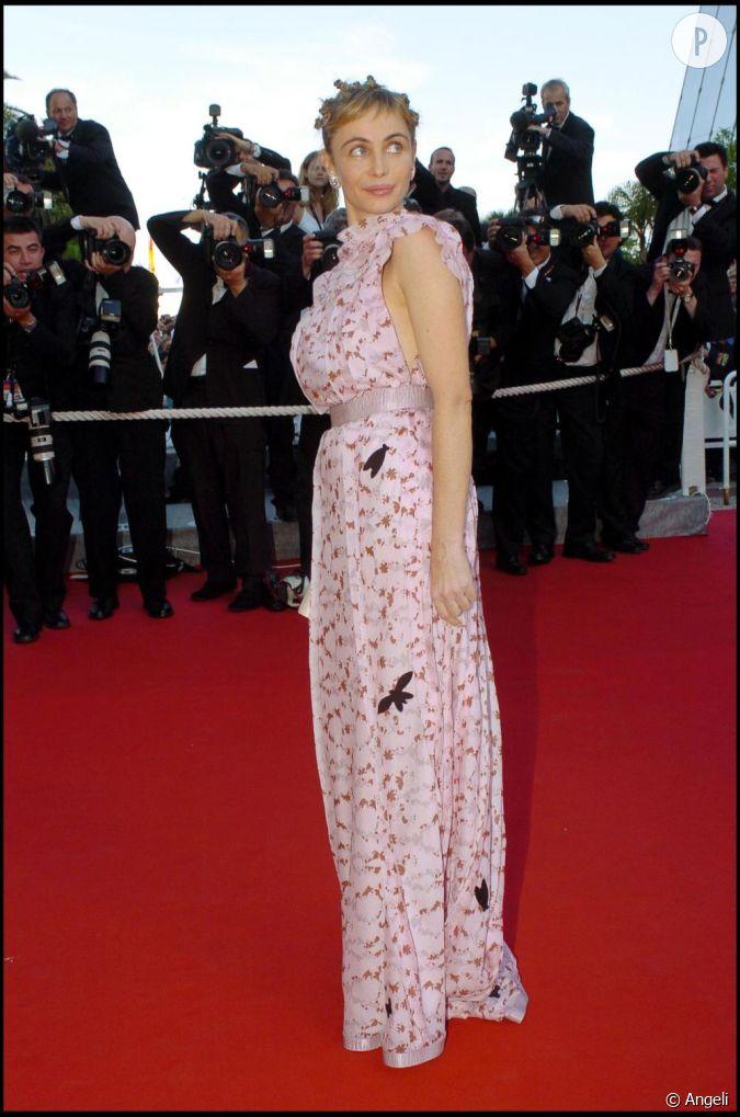 Sur Le Tapis Rouge De Cannes La Belle Mise Cette Fois Sur Une Robe Rose Pastel Orn E De Cigales