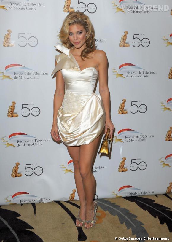 AnnaLynne McCord au cocktail de la Monte Carlo television à Beverly Hills