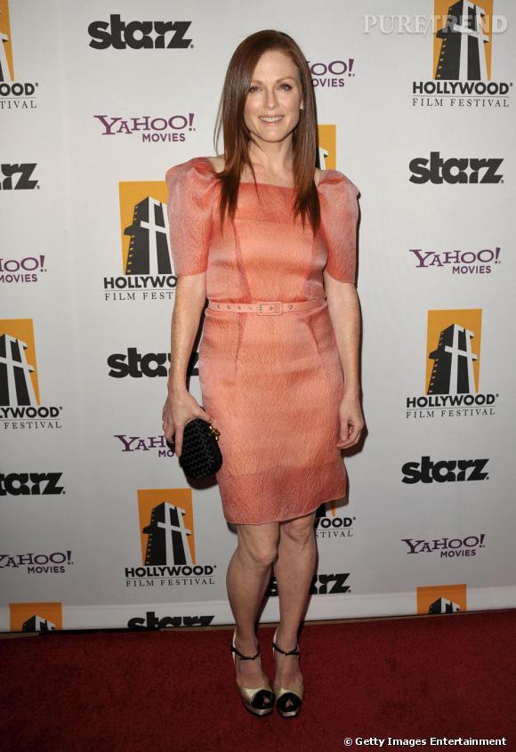Julianne Moore lors de la Cérémonie des Hollywood Awards