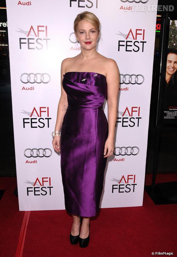 Drew Barrymore à la première du film Everybody's Fine à Los Angeles