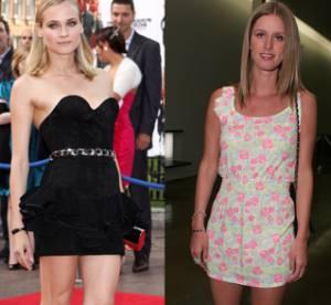 Diane Kruger vs. Nicky Hilton : une paire d'escarpins, deux tenues